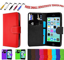 Magnetic PU Leather Side Flip Book Wallet Case Cover For Apple iPhone 6S Plus UK
