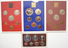1977 1979 1981 Coinage of Great Britain & Northern Ireland w/1975 Cook Islands