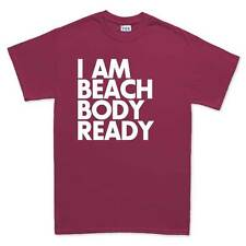 Beach Body Ready Funny Mens Sarcastic Joke Gift T shirt Tee Top T-shirt
