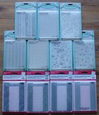 U Choose Embossing Folders Allura Haviera Classic 5th Ave All Dressed Up A2 size