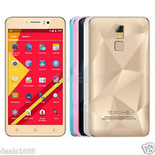 """5.5"""" Unlocked Android Smartphone Quad Core 3G GSM GPS Dual SIM AT&T Cell Phone"""