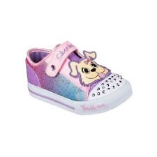 Skechers Childrens/Girls Twinkle Toes Shuffles - Play Dates Shoes