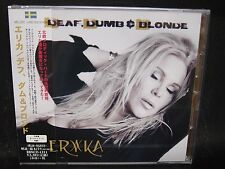 ERIKA Deaf, Dumb & Blonde + 1 JAPAN CD Yngwie J. Malmsteen Erika Norberg