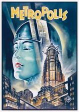 METROPOLIS --- REPRODUCTION MOVIE POSTER A3 or A4 OPTIONS AVAILABLE