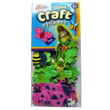 Foam Craft Stickers - 4 Themes - Lots of Colours, Sizes and Scene Shapes