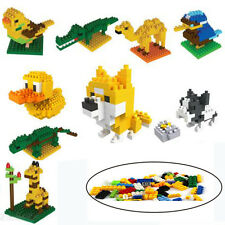 Building Blocks Bagged Animal Series Children's Educational Assembled Toys