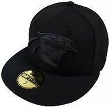New Era NFL Carolina Panthers Black On black 59fifty Fitted Cap Limited Edition