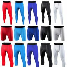 Men's Sports Exercise Base Layers Tights Compression Pants Shorts Gym Shorts NEW