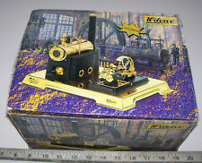 Vintage WILESCO German Toy Steam Engine In Box, D106 Dampfmaschine D-106 GERMANY