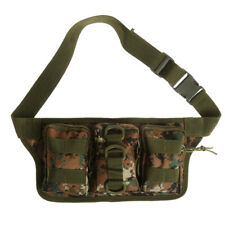800D Waterproof Tactical Molle Pouch Belt Waist Fanny Pack Outdoor Military Bag