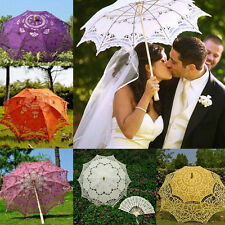 Vogue Lace Parasol Umbrella Wedding Photos Cosplay DIY Decoration