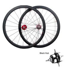 track carbon bike wheels 38mm fixed gear bicycles wheelset20.5mm width+rim tapes
