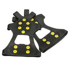 Over Shoe Studded Snow Grips Ice Grips Anti Slip Snow Shoes Crampons Cleats F9