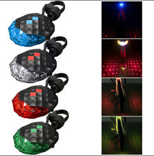 Rear Tail Bike New Safety Lamp Light 5 LED+ 2 Laser Bicycle Flashing Warning