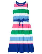 GYMBOREE COLORBLOCK SUN DRESS Maxi STRIPES AND & ANCHORS 5 6 7 GIRLS NEW