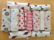 """NEW ADEN and ANAIS Muslin Cotton Boutique Swaddle Blanket 47""""x 47""""  You Pick"""