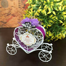 Cinderella Carriage Candy Chocolate Boxes Birthday Wedding Party Favour Craft
