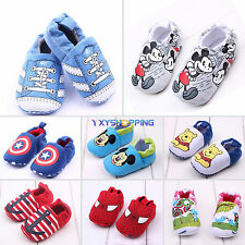Fashion Toddler Baby Boys Girls Infant Shoes Soft Slip-on Slippers Prewalker New