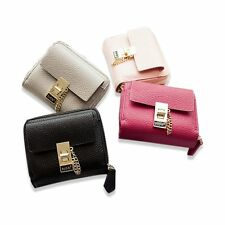 Women Fashion Leather Wallet Lady Short Card Holder Handbag Bag Clutch Purse