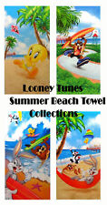 Looney Tunes Bunny Taz Tweety Beach/Bath Towel Collections 30x60