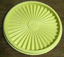 Tupperware Round Yellow Servalier Replacement Seal Lid #810