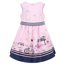 5X(Summer New Girls Dress Kids Clothes Children Dress Princess Party Dresses) L3