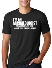 Archaeologist T-shirt Funny Archaeology T-shirt