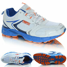 Mens Running Trainers Casual Lace Up Boys Sports Gym Fitness Walking Shoes Size