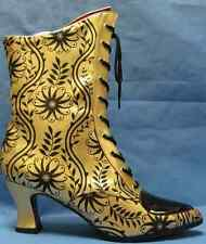 Victorian Boots Vintage Steampunk Fancy Dress Halloween Adult Costume Accessory