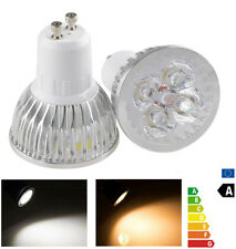 10 X 12W GU10 CREE led bulb 4X3W Spotlight Home lamp Ceiling indoor white light