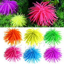 Silicone Aquarium Decor Artificial Coral Plant Fish Tank Underwater Ornament New