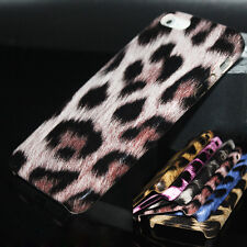 Luxury Leopard Pattern PU Leather Case Cover Skin for Apple iPhone 6 6S Plus Cap