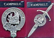 Campbell Scottish Clan Crest Badge or Kilt Pin Ships free in US
