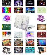 Rubberized Hard shell Case Keyboard Cover For MacBook Pro Air Retina 11 12 13 15