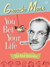 Groucho Marx - You Bet Your Life: The Best Episodes (DVD, 2004, 3-Disc Set)
