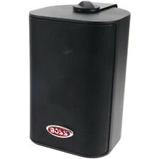 "4"" Indoor/Outdoor 3-Way Speakers (Black)"