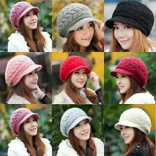 Fashion Women Winter Warm Baggy Beanie Knit Crochet Hat Girl Slouch Ski Cap    X