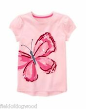 NWT Gymboree Island Hopper 5 7 8 10 Pink Butterfly Tee Shirt Top