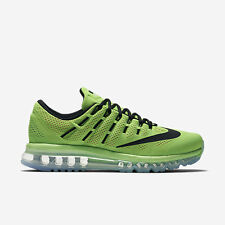 NIKE MEN AIR MAX 2016 RUNNING SHOE ELECTRIC GREEN 806771-300 US7-11 06'