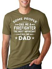 Firefight T-shirt Gift Father Dad Daddy Tee Shirt Father's Day Gift tee