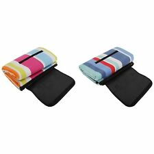 Fleece Picnic Rug/Blanket With Waterproof Backing