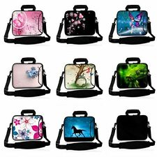 "Colorful 12.5"" 13"" 13.3"" Laptop Shoulder Bag Sleeve Case Cover +Outside Handle"