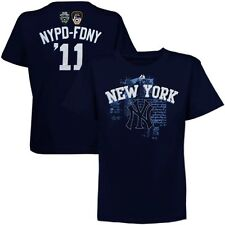 New York Yankees Majestic NYPD-FDNY September 11th Memorial Men's Medium BNWT