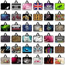 "14"" 14.1"" 14.4"" Notebook Laptop Neoprene Carry Sleeve Bag Case Cover with Handle"