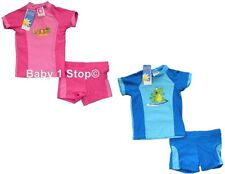 Boys / Girls 2 Piece Sunsuit Sunsafe 2 Piece Swimsuit UV 40+ 6months - 6 Years