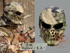 Airsoft Paintball Full Face Mask Zombie Cosplay Mask CS Halloween Costume Mask