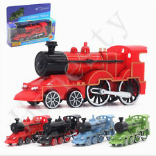 1:55  Alloy Car Model Classic alloy locomotive Steam Train Model Sound And Light