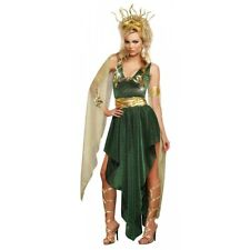 Medusa Costume Adult Sexy Greek Goddess Halloween Fancy Dress