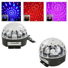 LED Stage Light Lighting Crystal Magic Ball Effect DJ Disco Bar Party Club 1PC