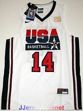 Swingman Jersey CHARLES BARKLEY 1992 USA Basketball Dream Team Olympic White Men